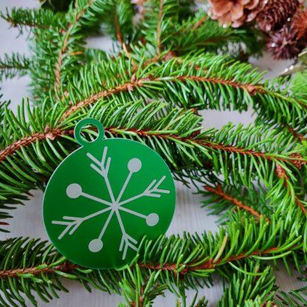 Décoration K009-OR02 médaillon vert