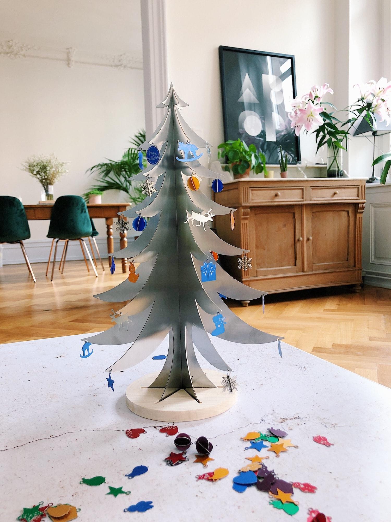 decoration noel durable