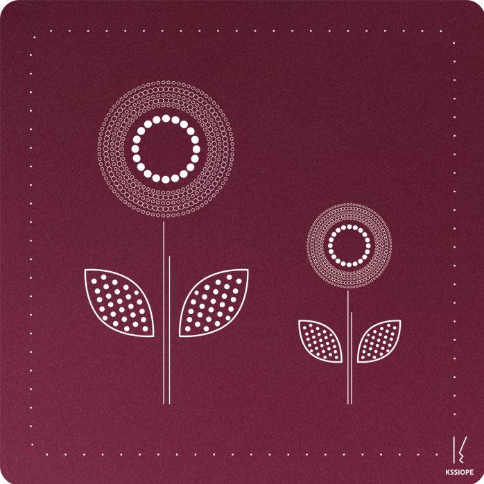 carte personnalisee - arrivée printemps - rose