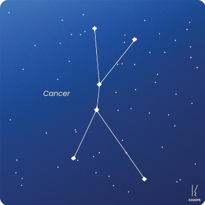 carte zodiaque personnalisable cancer