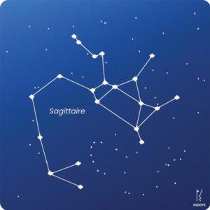 carte zodiaque personnalisable sagittaire