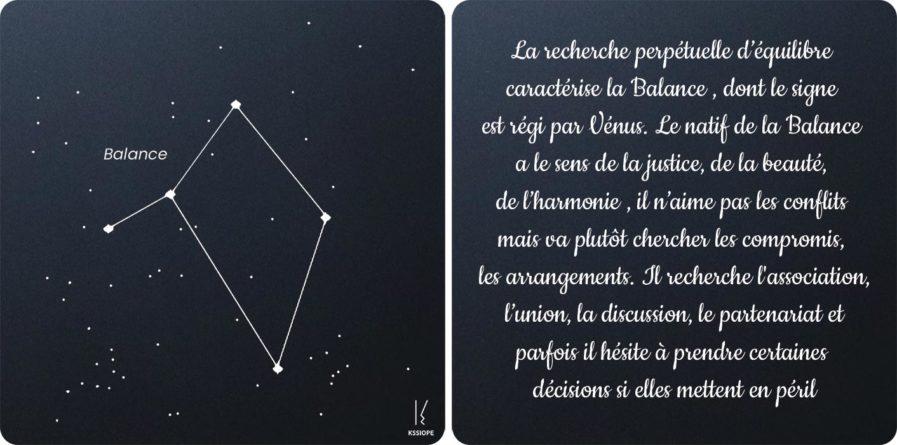 carte zodiaque balance