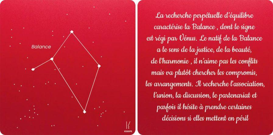 carte zodiaque balance rouge