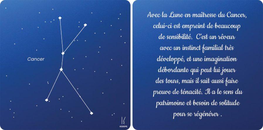 carte zodiaque cancer
