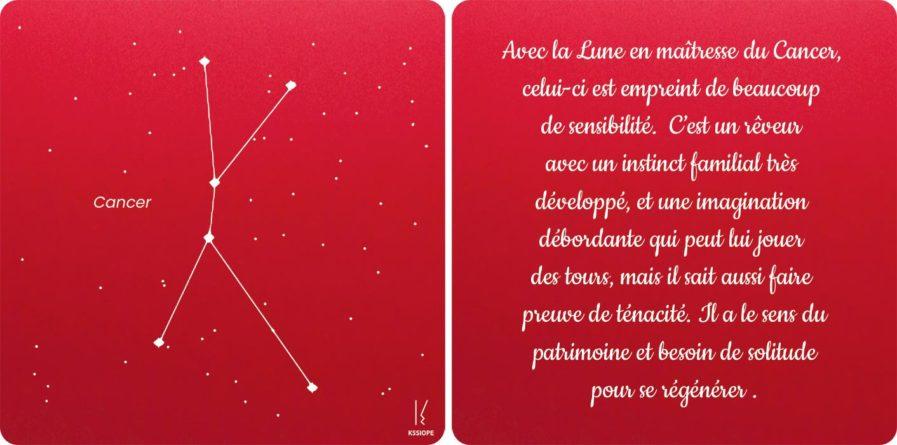 carte zodiaque cancer rouge