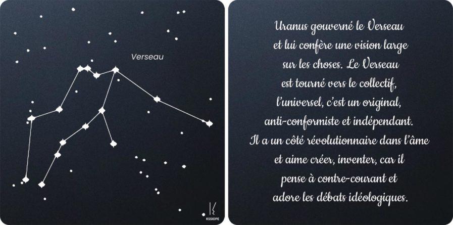 carte zodiaque verseau