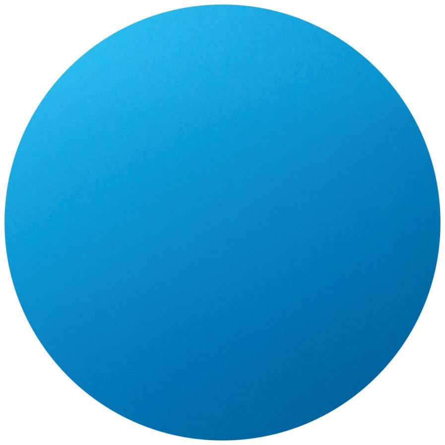 rond personnalisable bleu clair