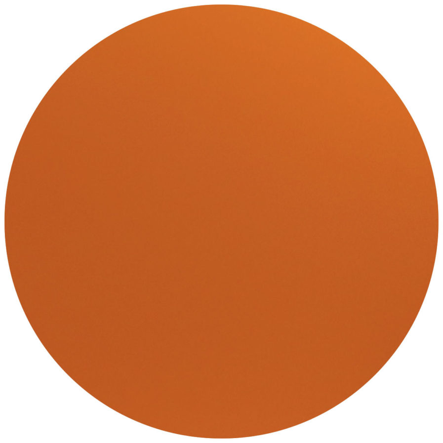 rond personnalisable ocre