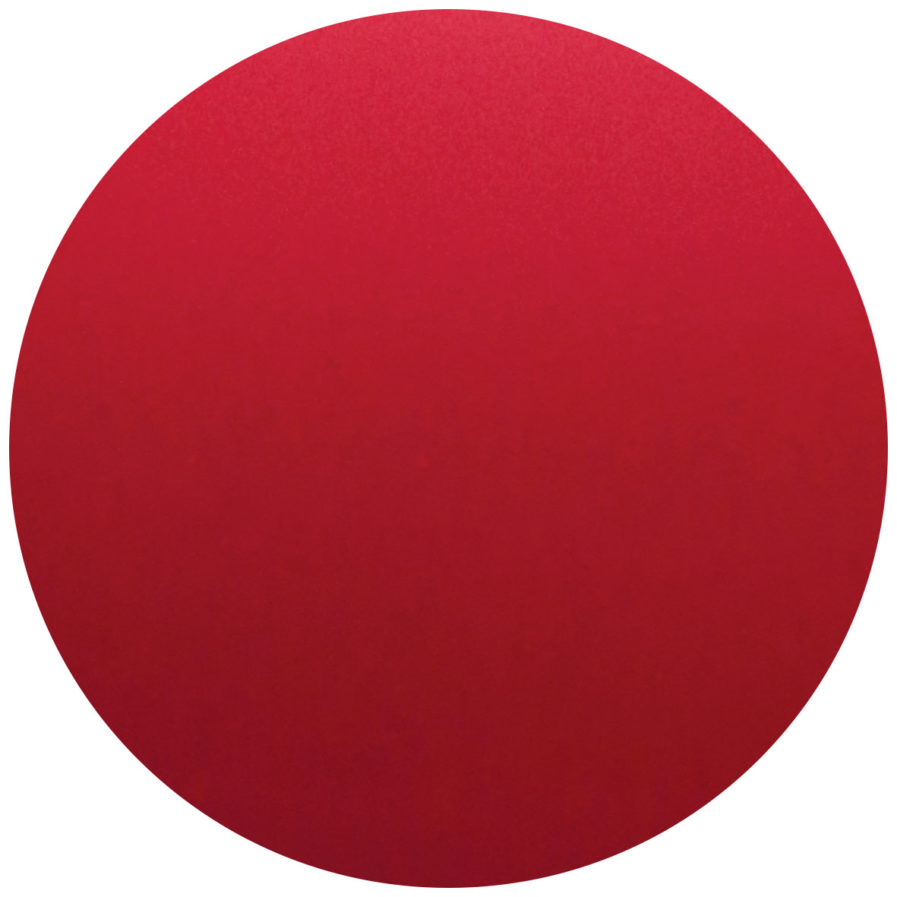 rond personnalisable rouge