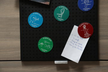 magnet carte ronde personnalisable kssiope