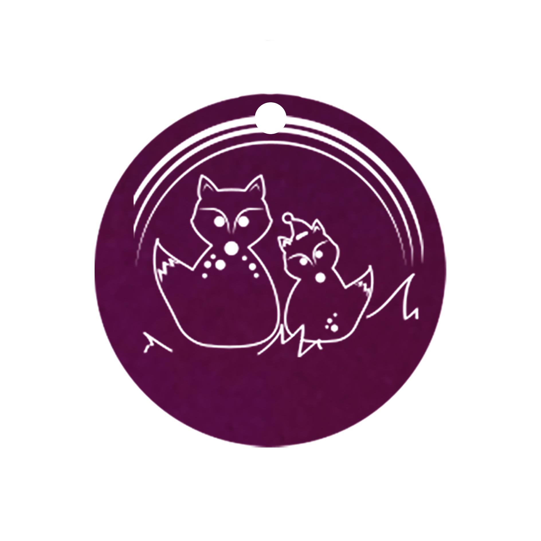 mini carte ronde manan renard