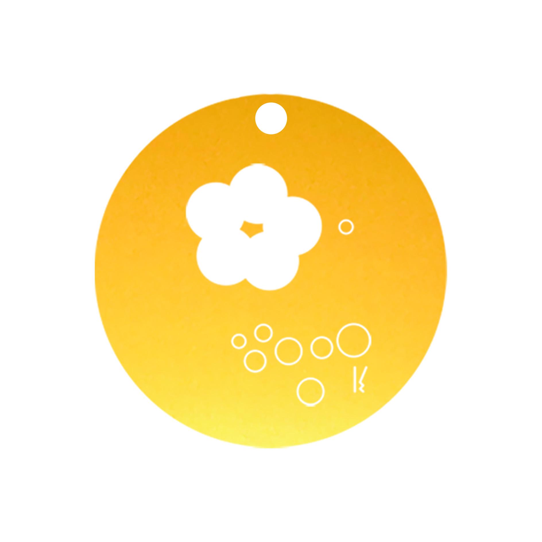mini carte ronde sakura & buttefly MV05