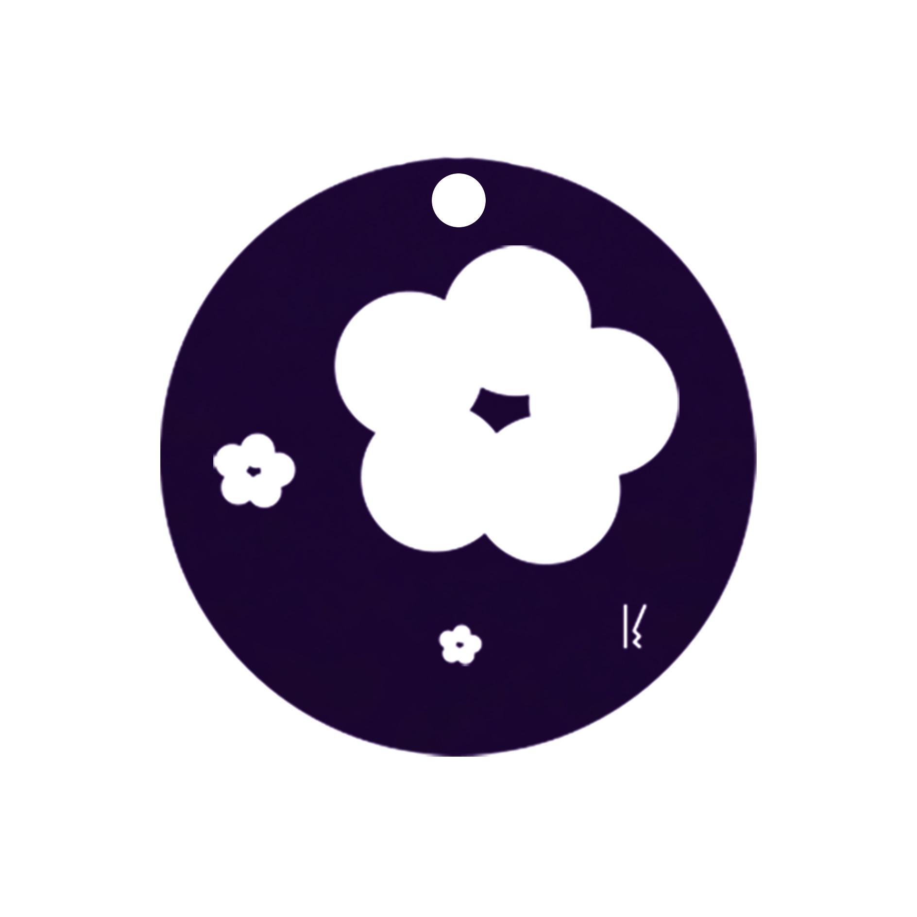 mini carte ronde sakura & butterfly MV 02
