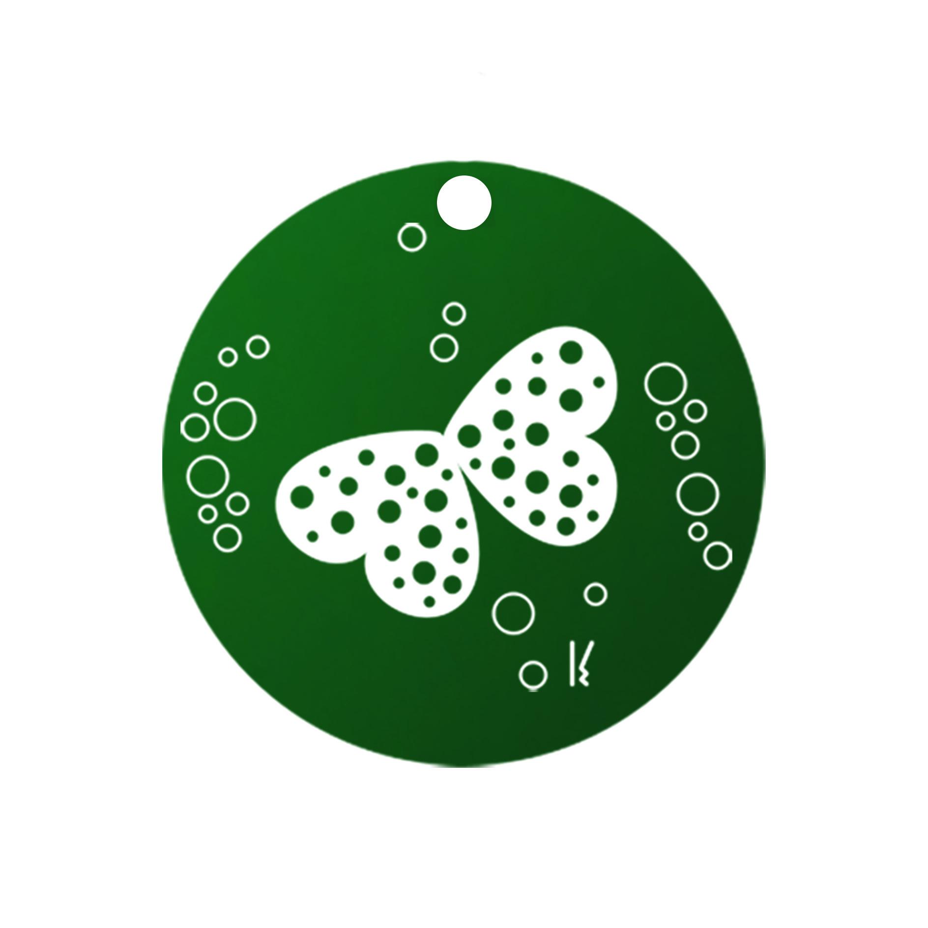 mini carte ronde sakura & butterfly MV03