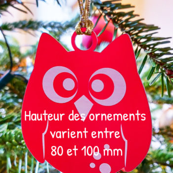 taille decorations